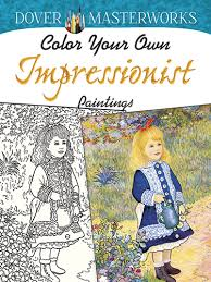 color your own impressionists 2