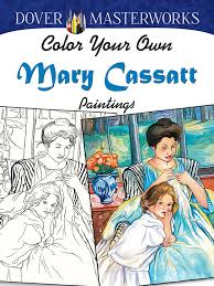color your own mary cassatt 2