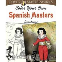 color your own spanish masters 2