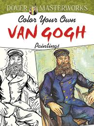 color your own van gogh 2