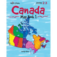 Canada Map Book Series