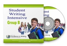 Student Writing Intensive Level A, By Andrew Pudewa, 4-DVDs, 2010